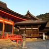Temple Buildings at Kiyomizu-dera.