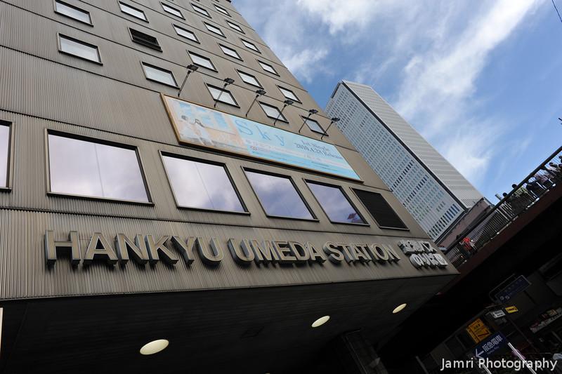 Hankyu Umeda Station Entrance.