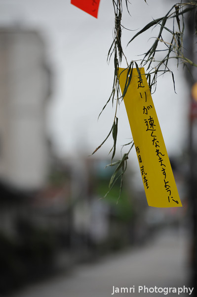 "A Wish on Yellow Paper. For the <A href=""http://en.wikipedia.org/wiki/Tanabata"">Tanabata Festival</A>."