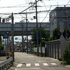 Spot the Aeroplane.<br /> This street in Sone is close to the runway of Itami Airport, can you spot the aeroplane?