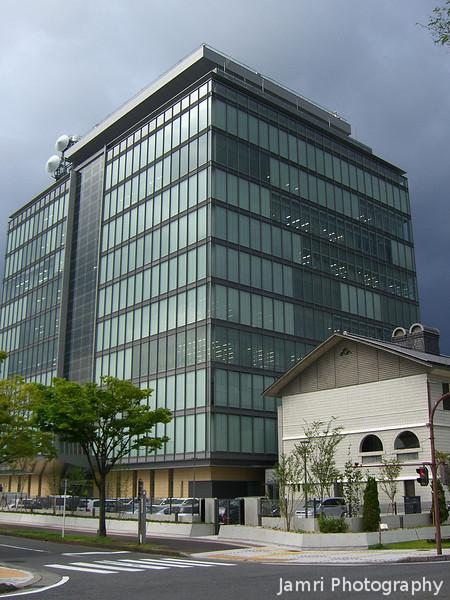 Office building in Otsu, capital of Shiga prefecture.