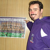 The Dockers Poster.<br /> Sometimes the simplest presents are the best. This time it was a Dockers Poster from a Sunday Times (a newspaper in Perth), that my parents sent me. For those of you unfamiliar with Australia, the Fremantle Dockers are an Aussie Rules Football team, one of only 16 (currently) who play in the A.F.L. (highest level).<br /> Photo by Ritsuko
