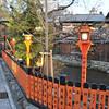 At a Fence along the Shirakawa.