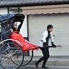 Rickshaw Passing.