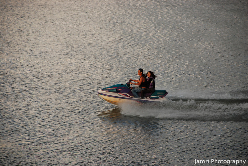 Late Afternoon Jet Ski Ride.