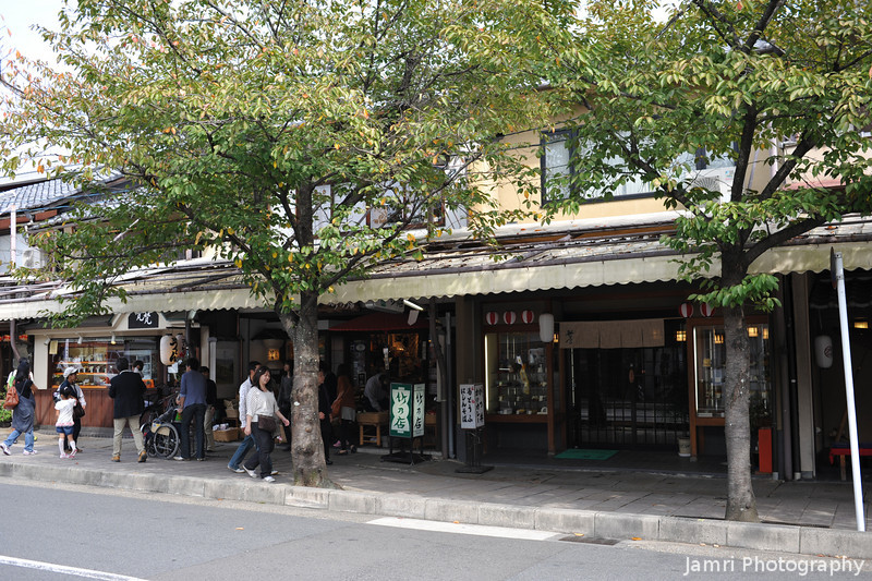 Touristy Shops.<br /> In Arashiyama, Kyoto.