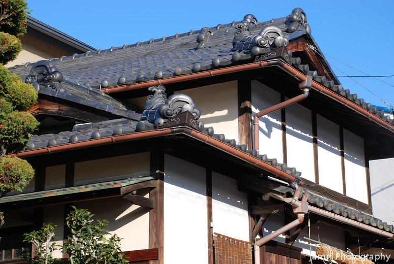 Traditional House Roof.<br /> In my neighbourhood.