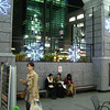 Christmas Lights on the Yodobashi Camera Building Veranda.
