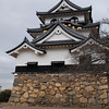 Hikone Castle Side View.