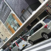 Along Busy Shijo-dori.<br /> In Kyoto.