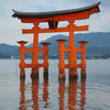 Torii in the early evening.