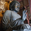 Big Buddha Side View.<br /> At Todai-ji in Nara.