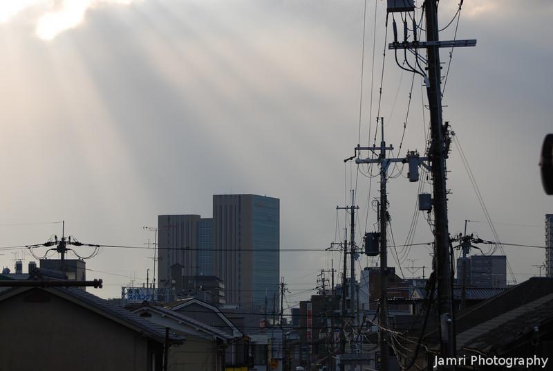 Sunbeams Towards Murata.