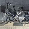 My New Bicycle in the Sun.<br /> After two years of putting up with a wobbly clunky second hand bicycle I finally upgraded and so did Ritsuko. We don't have a car here, so having a good bicycle with plenty of carrying capacity is important. We also chose ones that are good quality and practical for shopping, but they don't look so cool as the bicycle I had in Australia.