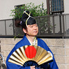 "A Court Noble.<br /> One of the characters in the Garasha Matsuri parade. The Garasha Matsuri honours Hosokawa Gracia (aka ""Garasha"") the wife of a local Lord one of Nagaokakyo's first Christians. Which just happened to be on the same day as we celebrated our 1st anniversary of living in Japan."