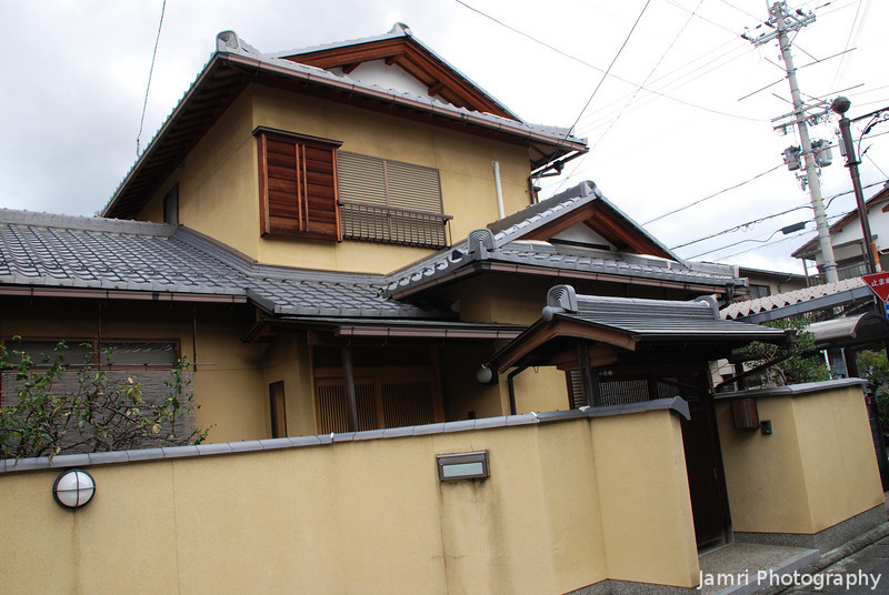 Interesting House.<br /> In Omi-Hachiman, Shiga.