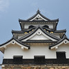 The Main Building from Below.<br /> Hikone-jo (Hikone Castle), Hikone, Shiga.