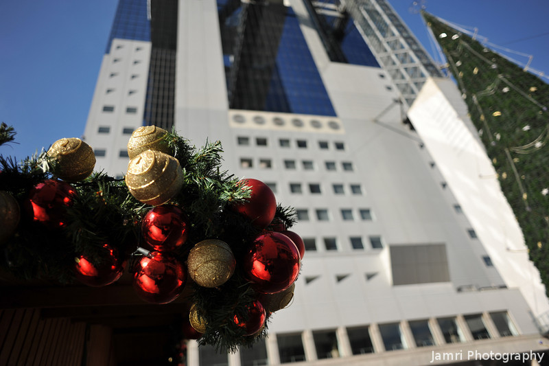 Christmas Decorations at the Umeda Sky Building.