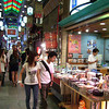 Looking for some pickles.<br /> Pickle, Interesting Vegetables, Traditional Foods, just some of the weird and wonderful things to be found in the Nishiki Markets in Kyoto.