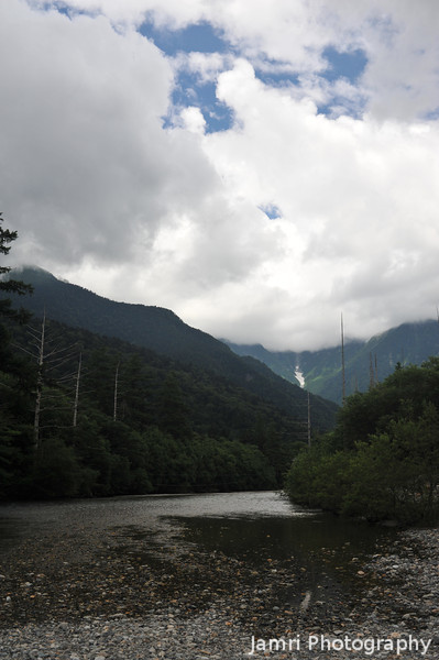Darkening Conditions.<br /> At Kamikochi National Park, Nagano Prefecture, Japan.<br /> It started to rain not longer after.