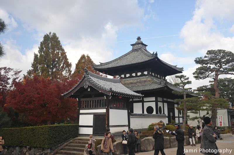 A Little Building.<br /> At Tofuku-ji (Tofuku Temple).