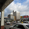 The view from the taxi rank.<br /> At Matsuyama station.