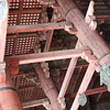 Temple Carpentry Detail.<br /> At Todai-ji in Nara.