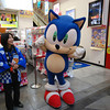 Sonic the Hedgehog!<br /> When I was in my late teens I spent countless hours playing Sonic and Sonic 2. It seems he is still going strong in Japan.