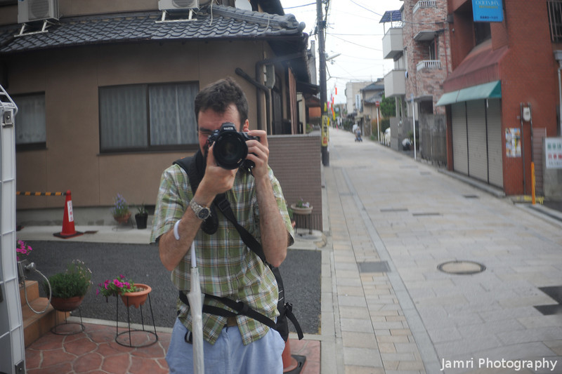 Me beside Saigokukaido (the old west highway).