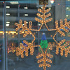 Snow Flake Framing the Top of the Tree.<br /> Part of the Bambio Festive Season Decorations.