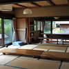 The Dining Hall.<br /> Outside to the left Bubu's (the camp dog) house can be seen.<br /> At Aburamu no sato (Abram's place) near Hida Furukawa, Gifu Prefecture, Japan.
