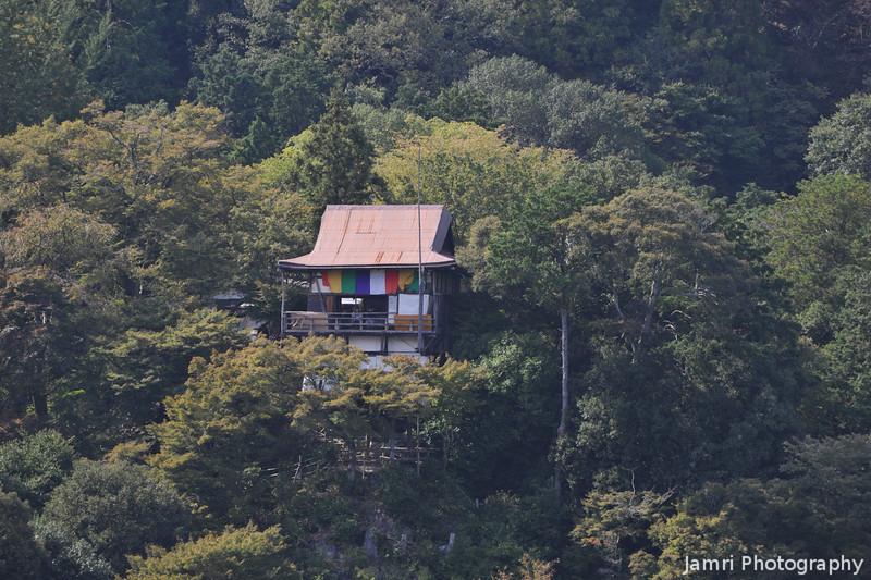 Senko-ji (Senko Temple).<br /> From Okochi Sanso, Arashiyama, Kyoto.