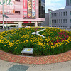 Flower Clock.<br /> In Takatsuki city, Osaka-fu.
