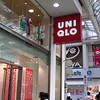 "Uniqlo Shinsaibashi.<br /> Uniqlo (pronounced ""Yunikuro"") is a clothes shop which specialises in low cost, yet reasonably fashionable clothing. Uniqlo is  one of the few business booming at the moment."