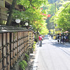 Down the Street.<br /> In Kibune, Kyoto.<br /> Note: Circular Polarising Filter Used.