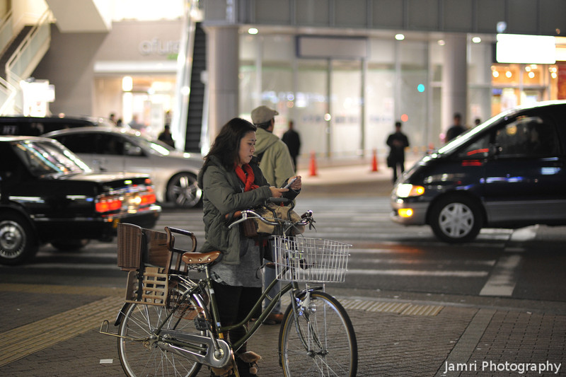 Lady with a Bicycle.