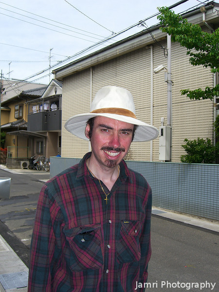 Me and my Fedora.<br /> Photo by Ritsuko