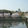 The Bridge and the Castle.<br /> Osaka Castle.