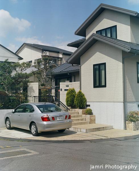 A Neighbours' House.<br /> Testing the Mamiya RB67 in full sun.<br /> Note Film Shot: Mamiya RB67 + Mamiya-Sekor 90mm f/3.8 lens + Kodak Portra 400VC