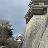 Along the Walls of Matsuyama Castle.