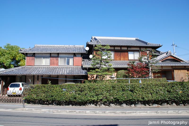 Traditional houses,<br /> In my neighbourhood in Nagaokakyo