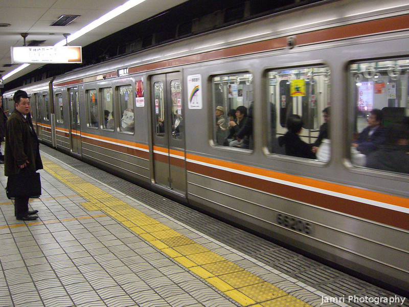 In the Osaka Subway.<br /> Went into Osaka to meet a friend from Australia (James N) who is currently staying in Nagoya, but came down to Osaka for the day. Ate Ramen, talked business, talked IT, looked around Bic Camera for a while, wandered a bit around Namba, helped him figure out where he had to go next on the Osaka Subway. Then I headed home cause I had a class to teach.