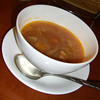 Soup of the Day.<br /> At the Ante Cafe in the Isetan Department Store at Kyoto Station.