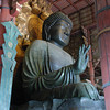 Daibutsu (The Big Buddha) 2.<br /> This is the biggest statue of Buddha in Japan, it's so big that a slim person can fit into his nostril! There's a hole cut into a pillar in another part of the temple which is the same size. People try to squeeze through, thinking they be granted a wish if they can pass through Buddha's nostril!