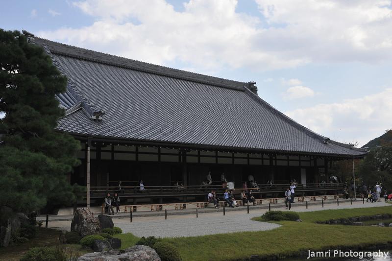 Tenryu-ji (Tenryu Temple).<br /> A Zen Buddhist Temple in Arashiyama, Kyoto.
