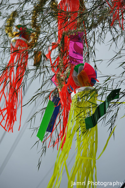 """Colourful Tangles. Some of the <A href=""""http://en.wikipedia.org/wiki/Tanabata"""">Tanabata Festival</A> decorations."""