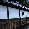 The Wall of a Traditional Estate.<br /> Along the Old West Highway (Saigokukaido) in Nagaokakyo.