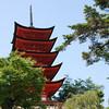 Pagoda in Miyajima.