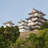 Himeji Castle in Afternoon light.