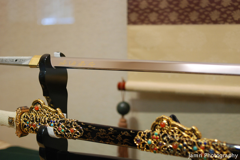 Ornament Scabbard.<br /> Another creation from the Gassan sword makers.